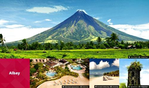 Albay Tourism Sizzles