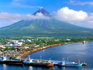 Best View of Mt. Mayon Atop Sleeping Lion