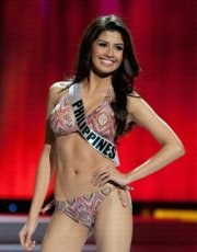 Shamcey Supsup - Miss Universe 2011 3rd Runner Up - Ladies of the Philippines