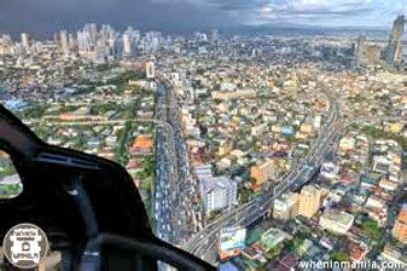 Discovering Metro Manila From the Air