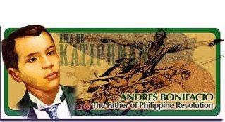 Philippine heroes bonifacio