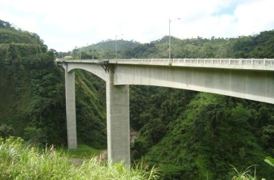 Philippine Tourist Attraction - Agas-Agas Bridge in Southern Leyte