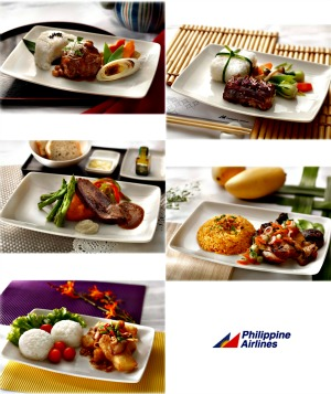 Philippine Airlines Menu