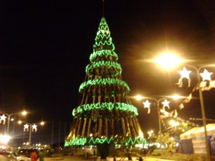 Philippines Christmas Tree in Cebu City