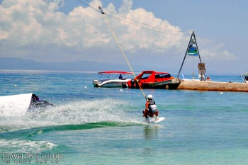 Bohol's 1st Wakeboard Cable Park