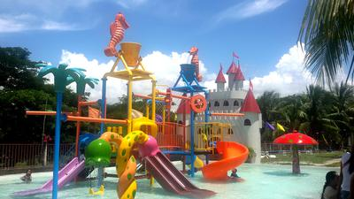 Cabadbaran city play park children's recreation swimming pool