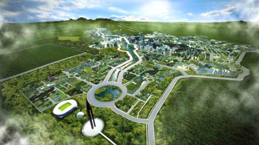 Clark Green City, Philippines