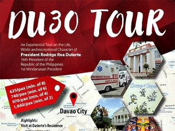 Du30 Tour Remains Popular Among Davao Visitors