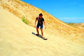 Laoag Philippines SandBoarding