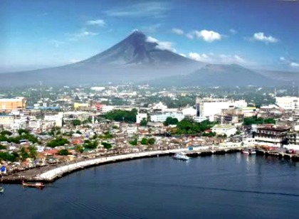 Beauty Also Smiles at the Other Side of Legazpi