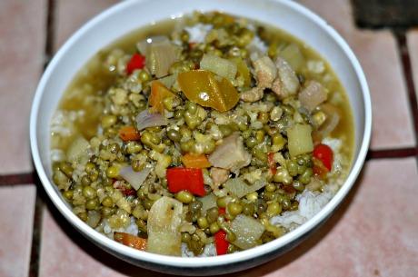 Filipino Mongo Beans