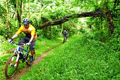 Threading  the Foot Trails of  Nueva Vizcaya - Mountain Biking in the Philippines