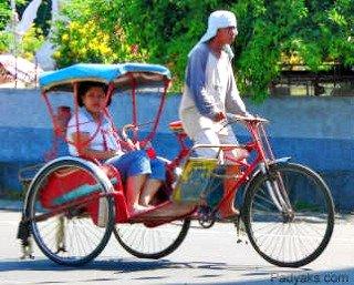 Pedicab or Padyak - Tabaco City, Albay, Philippines