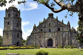 Philippine Churches - Paoay Church