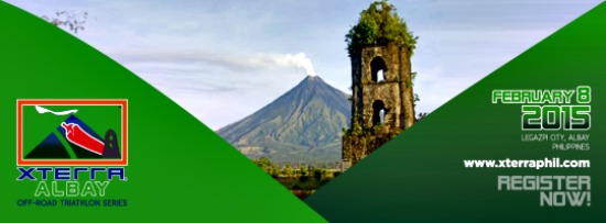 XTERRA Triathlon Kicks off Albay's 2015 Tourism Blitz and Festival Season