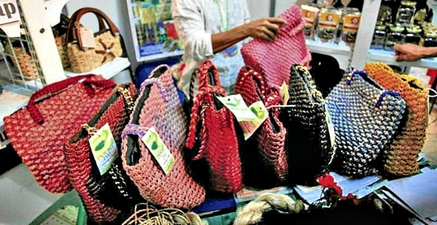 Water Hyacinth Bags - Higaonon Tribe to Turn Aquatic Weeds to Revenue Resources